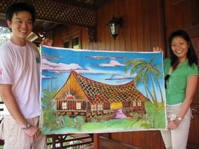 batik-making